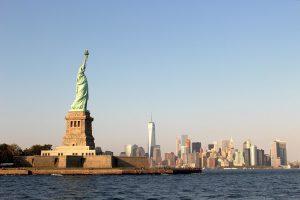 statue of liberty, new york, manhattan